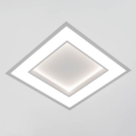LUMINÁRIA DE EMBUTIR NEW CHESS LED 33,6W 3000K 490X490X67MM 502LED3BT NEWLINE