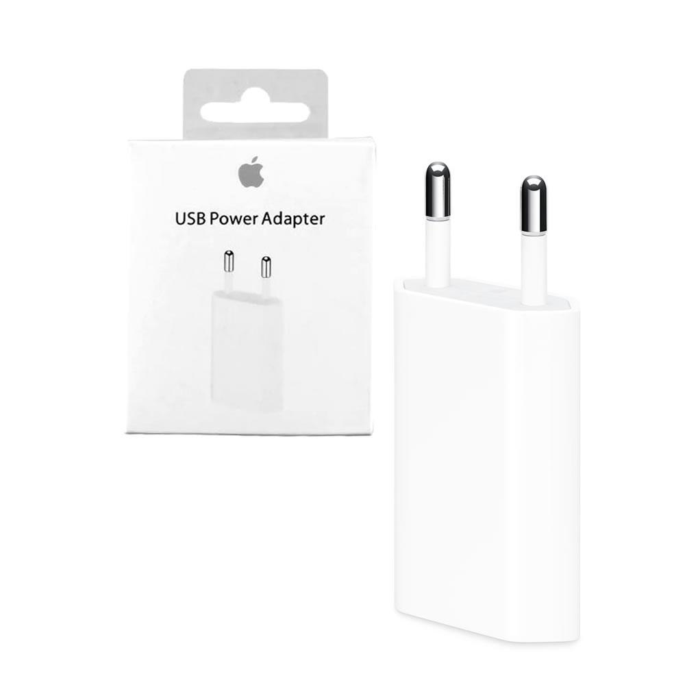 Apple Carregador USB 5W Original MD813ZM/A - Para iPhone - iPad - iPod