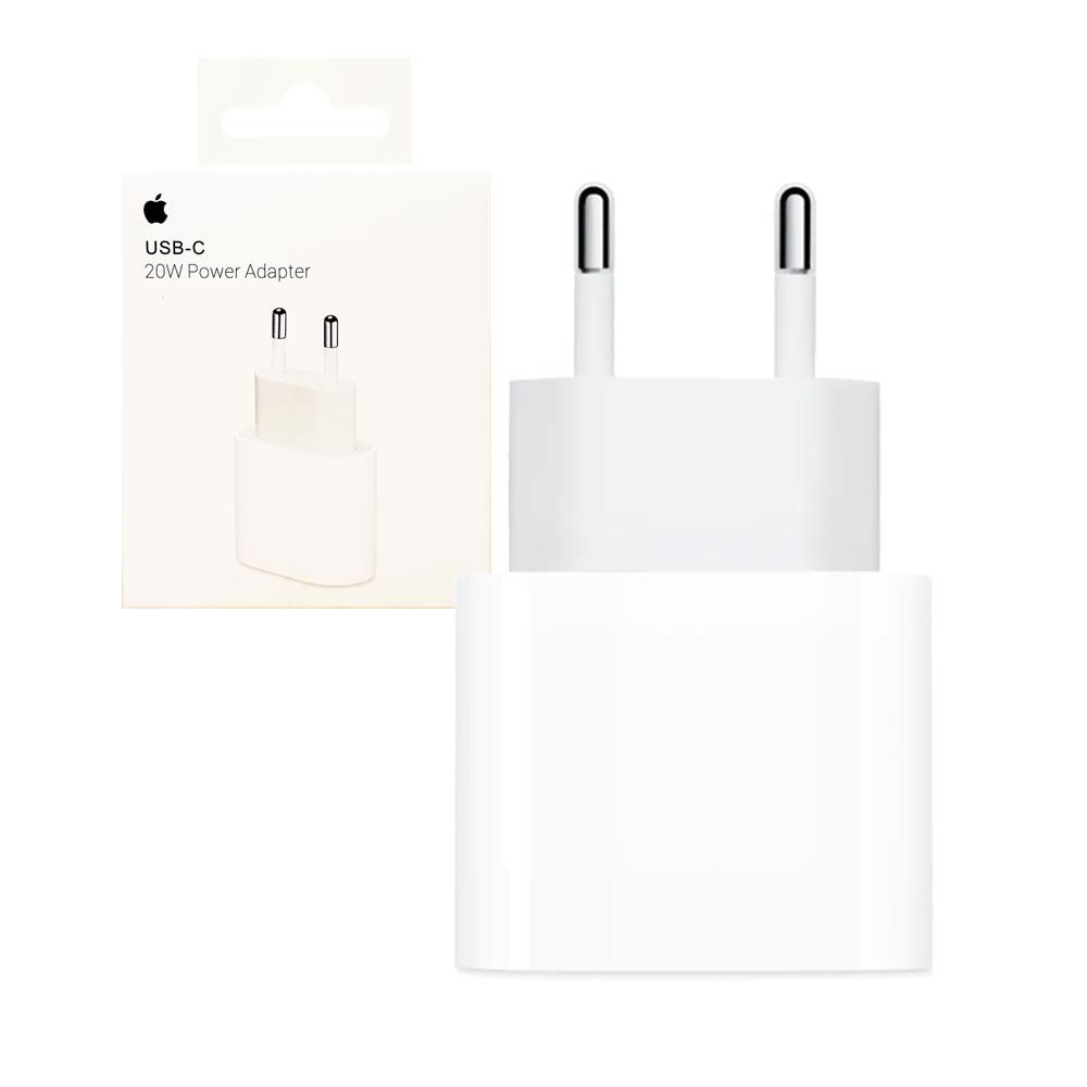 Apple Carregador USB-C 20W Original MU7V2ZM/A - Para iPhone - iPad - Watch