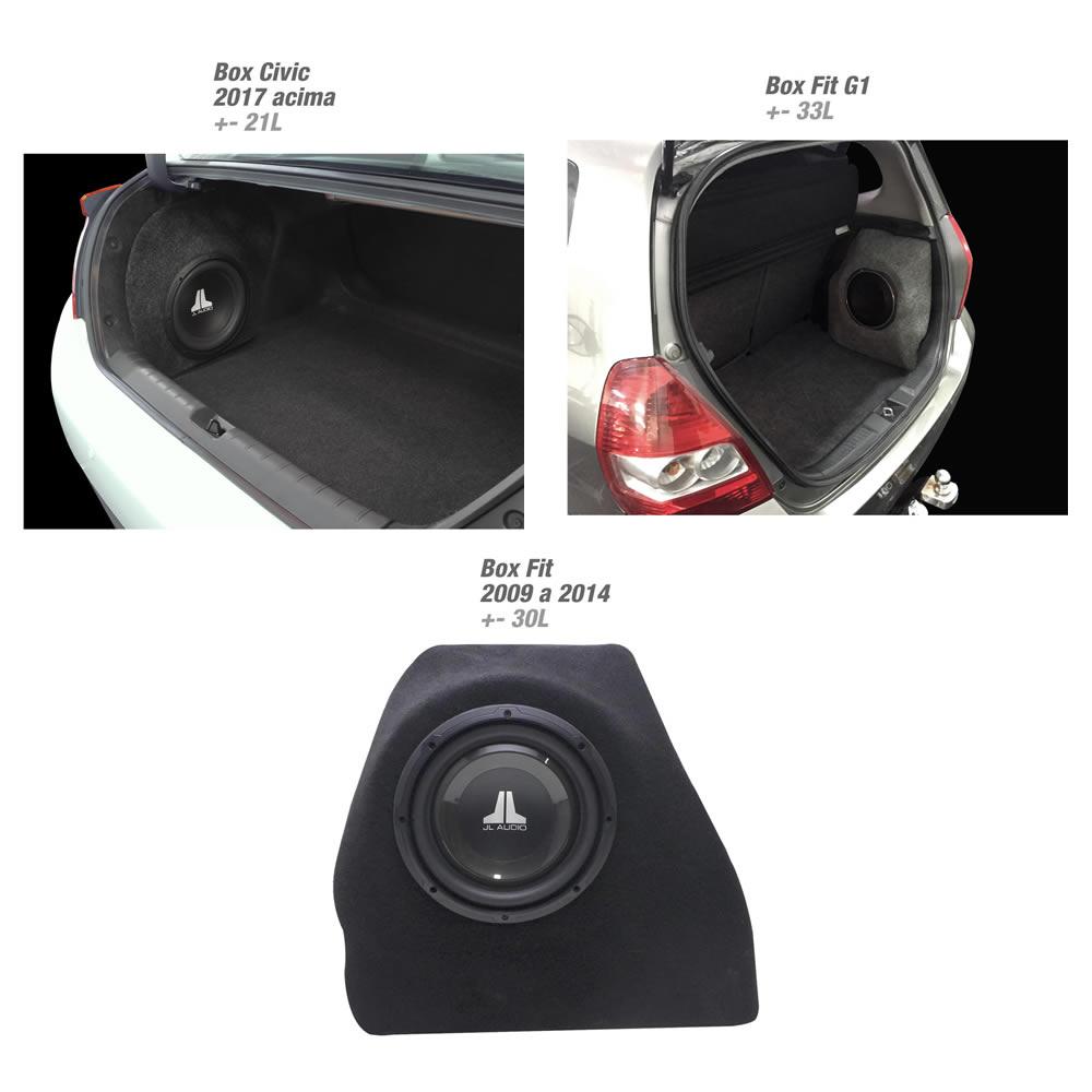 Box em Fibra Reforçado - Veículos Honda