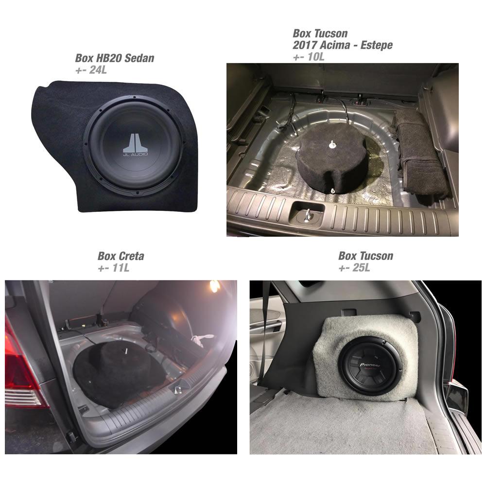 Box em Fibra Reforçado - Veículos Hyundai