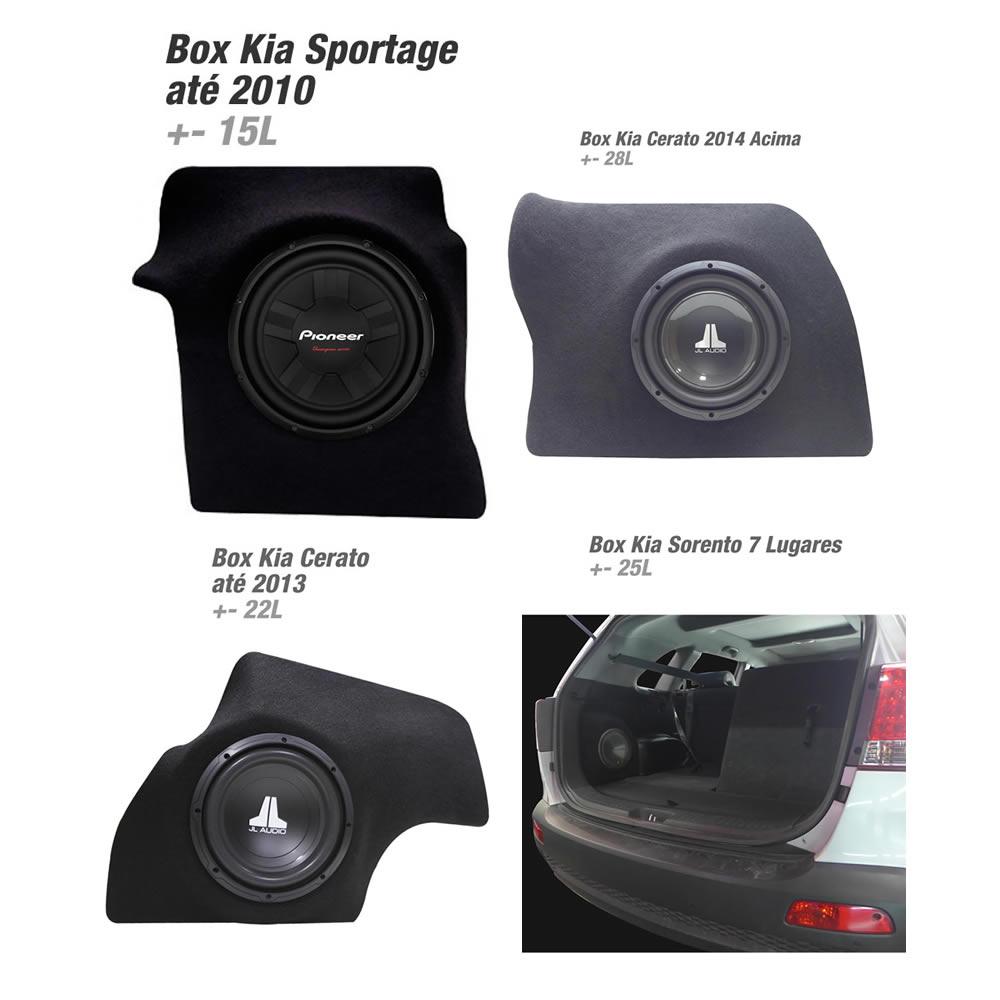 Box em Fibra Reforçado - Veículos Kia