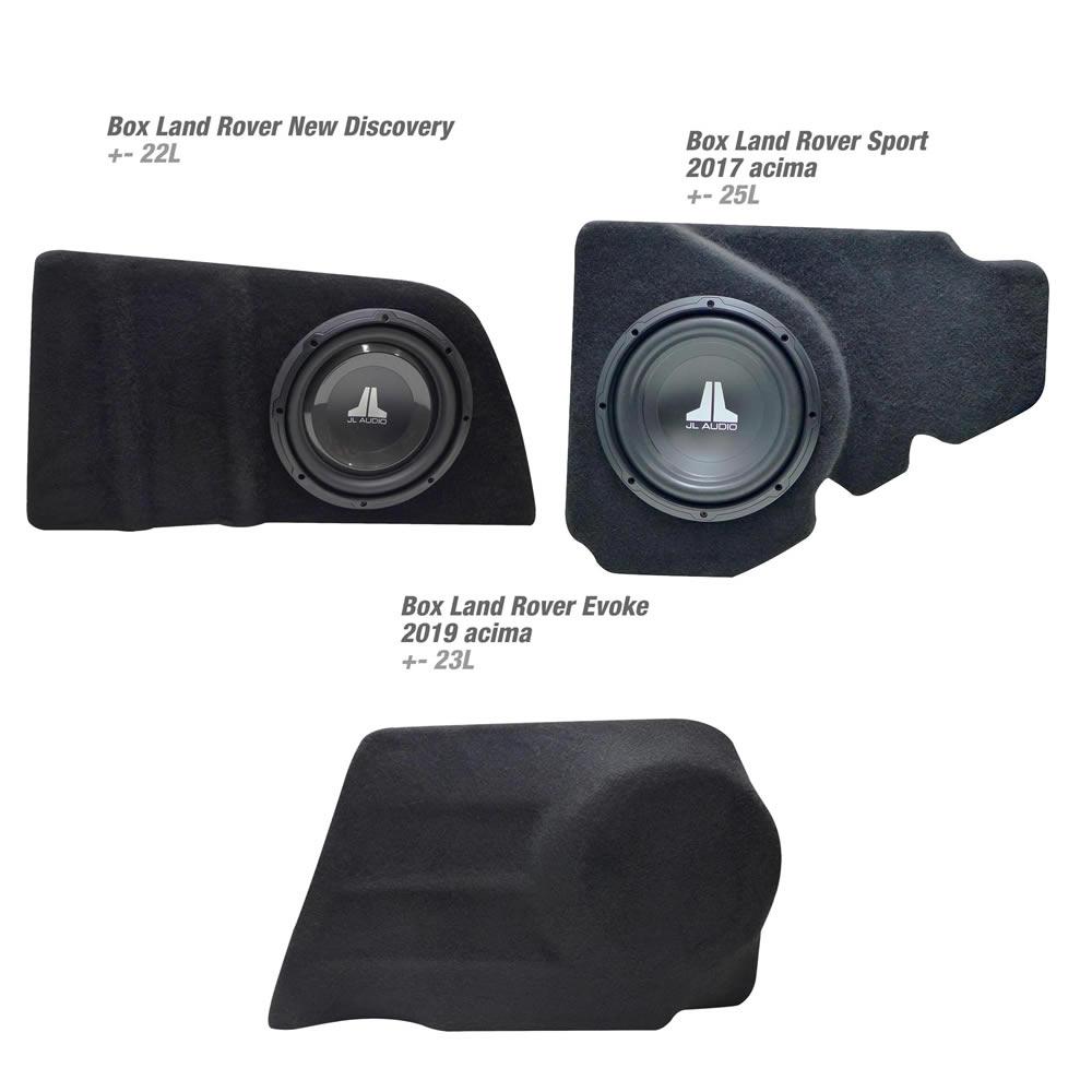 Box em Fibra Reforçado - Veículos Land Rover