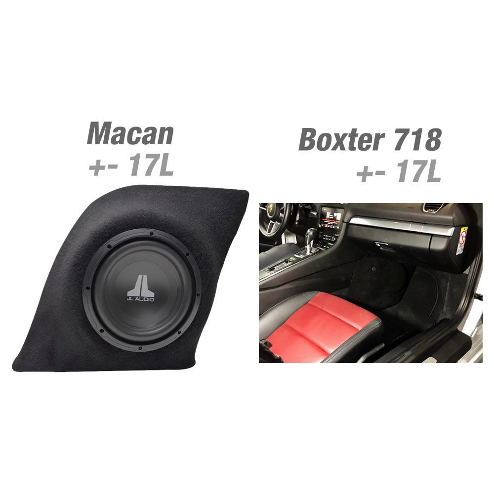 Box em Fibra Reforçado - Veículos Porsche