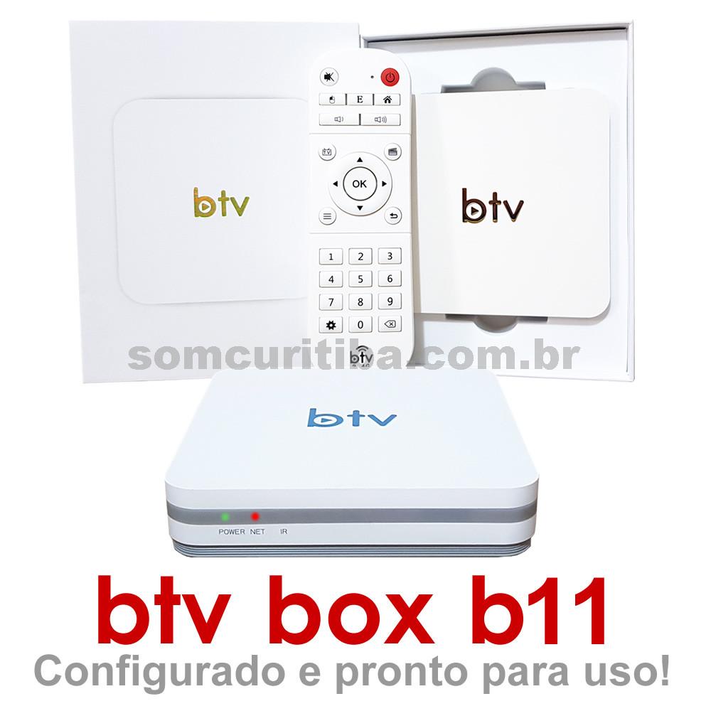 BTV Box B11 Original - Receptor de TV Digital - 300 Canais - 32000 Filmes - 2800 Series