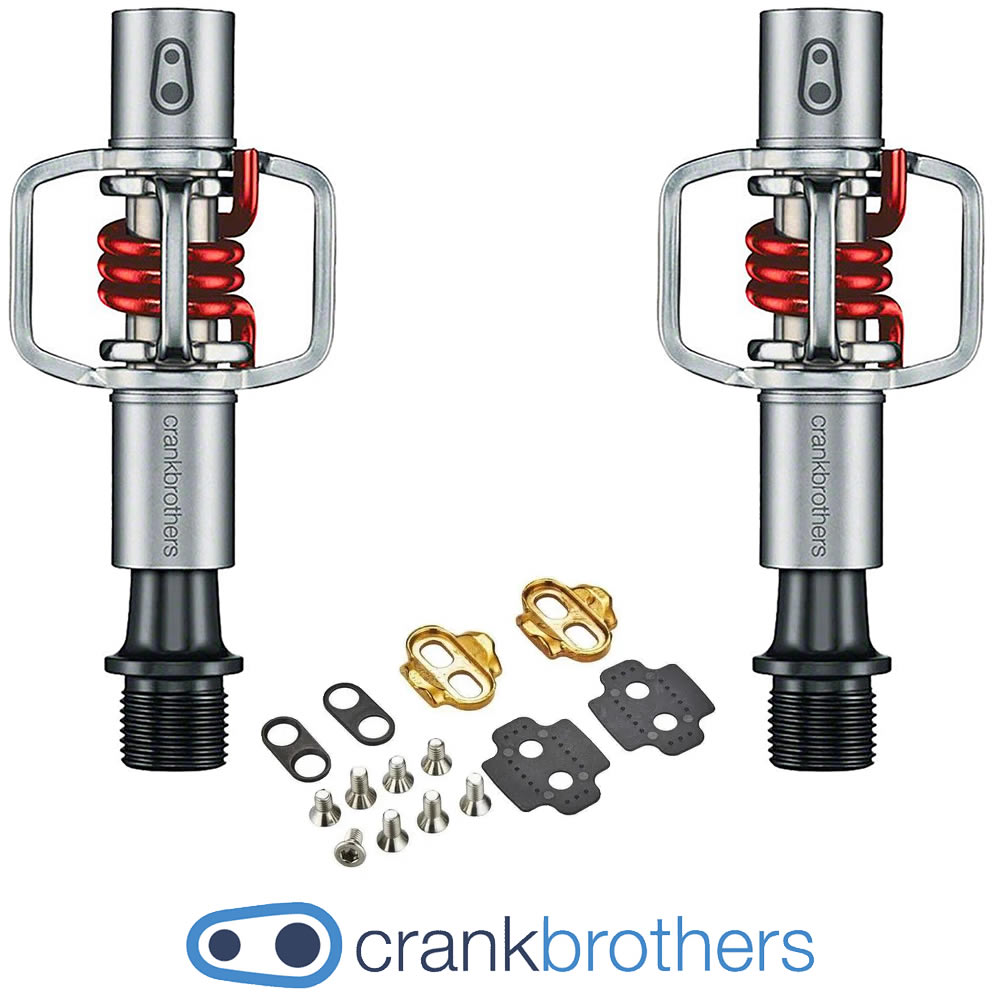 CrankBrothers Pedal MTB EggBeater 1 - Mola Vermelha