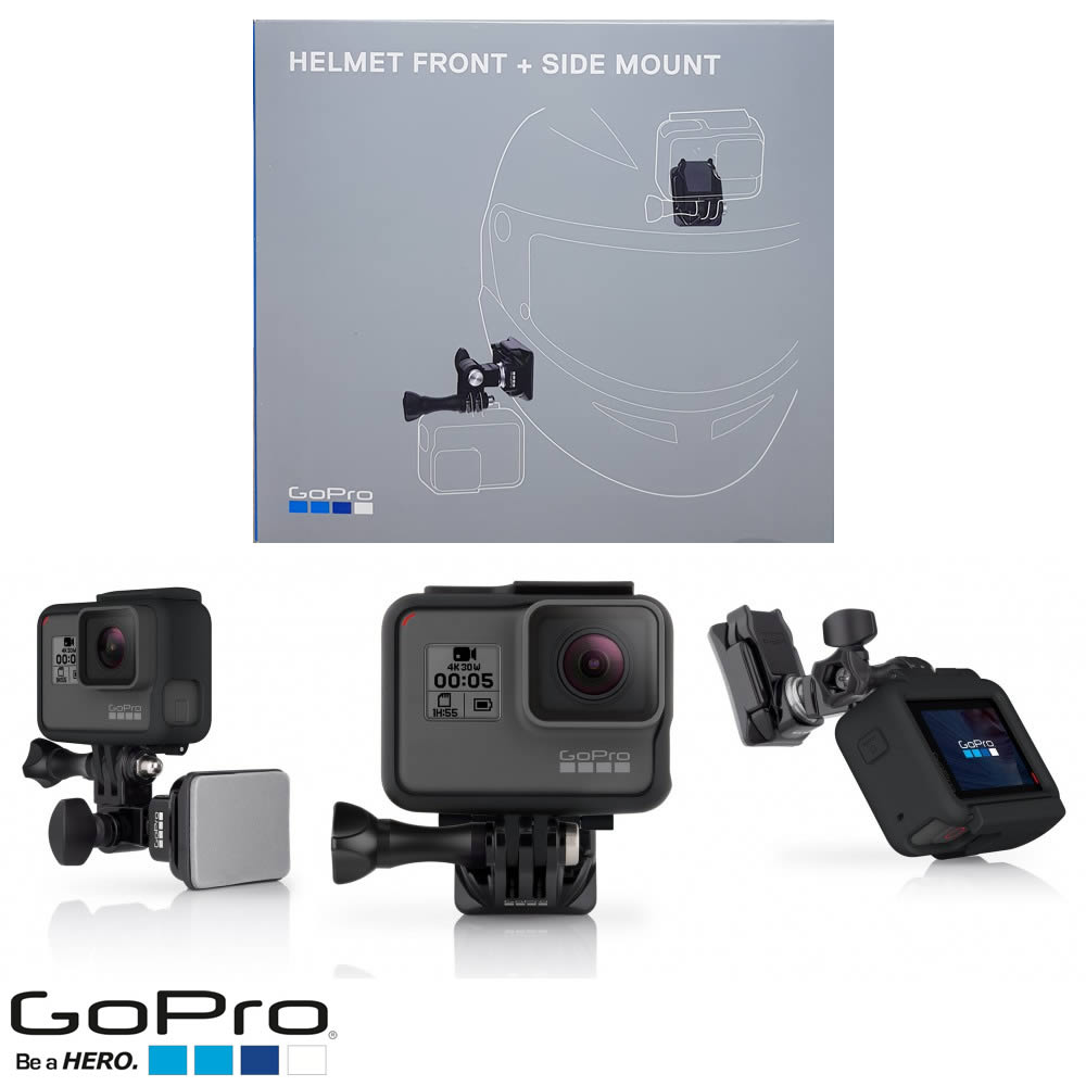 GoPro AHFSM-001 Helmet Front + Side Mount - Suporte frontal e lateral para Capacete