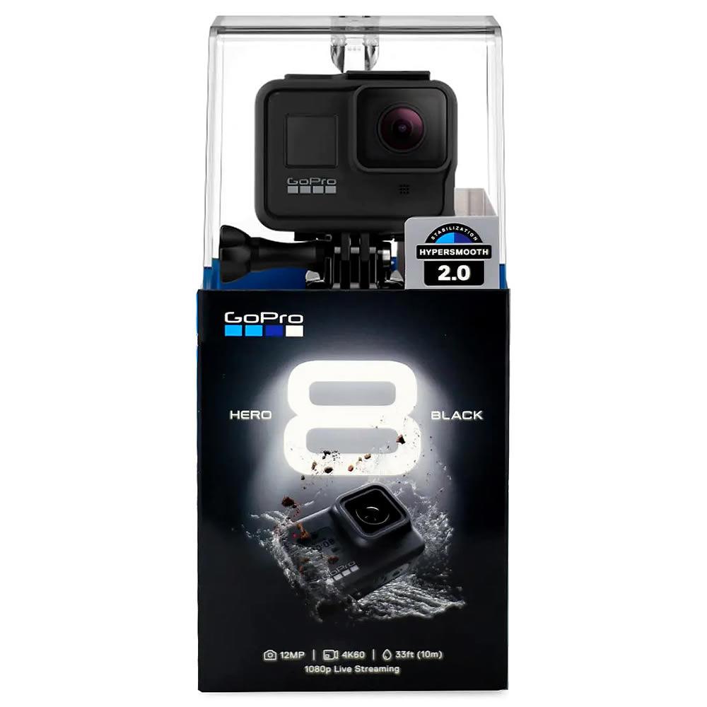 GoPro Hero 8 Black Camera 12mp RAW - MODS - 4k - Wifi - Comando por voz - Hypersmooth 2.0