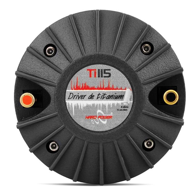 Hard Power Driver Ti115 Titanio Profissional - Boca 1 Polegada - 75W RMS 8 Ohms