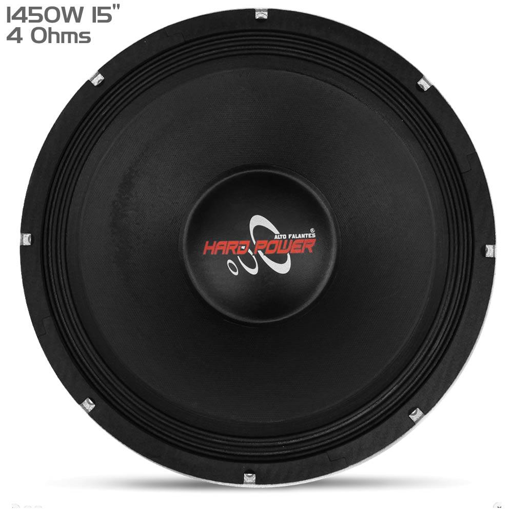 Hard Power HP1450G Black - Woofer 15 - 1450W RMS 4 Ohms
