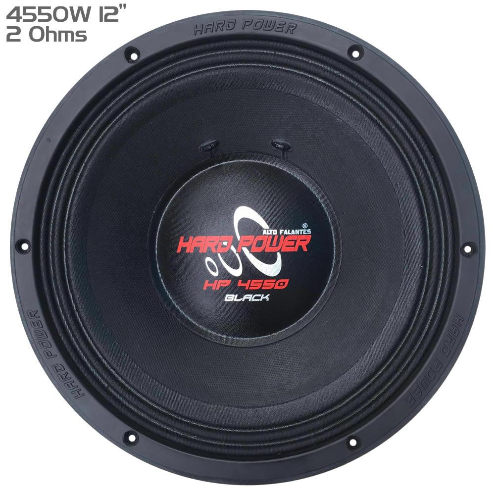 Hard Power HP4550 Black - Woofer 12 4550W RMS 2 Ohms