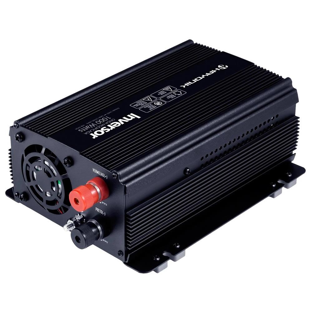 Hayonik Inversor PW de 12V para 127V com USB - 1000W