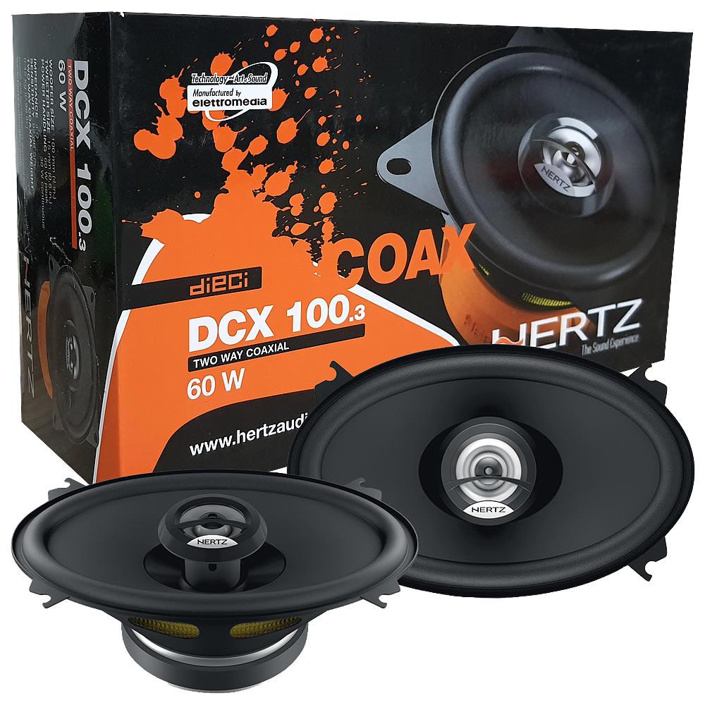 Hertz DCX460.3 Dieci Coaxial 4x6 - 40W RMS - Par