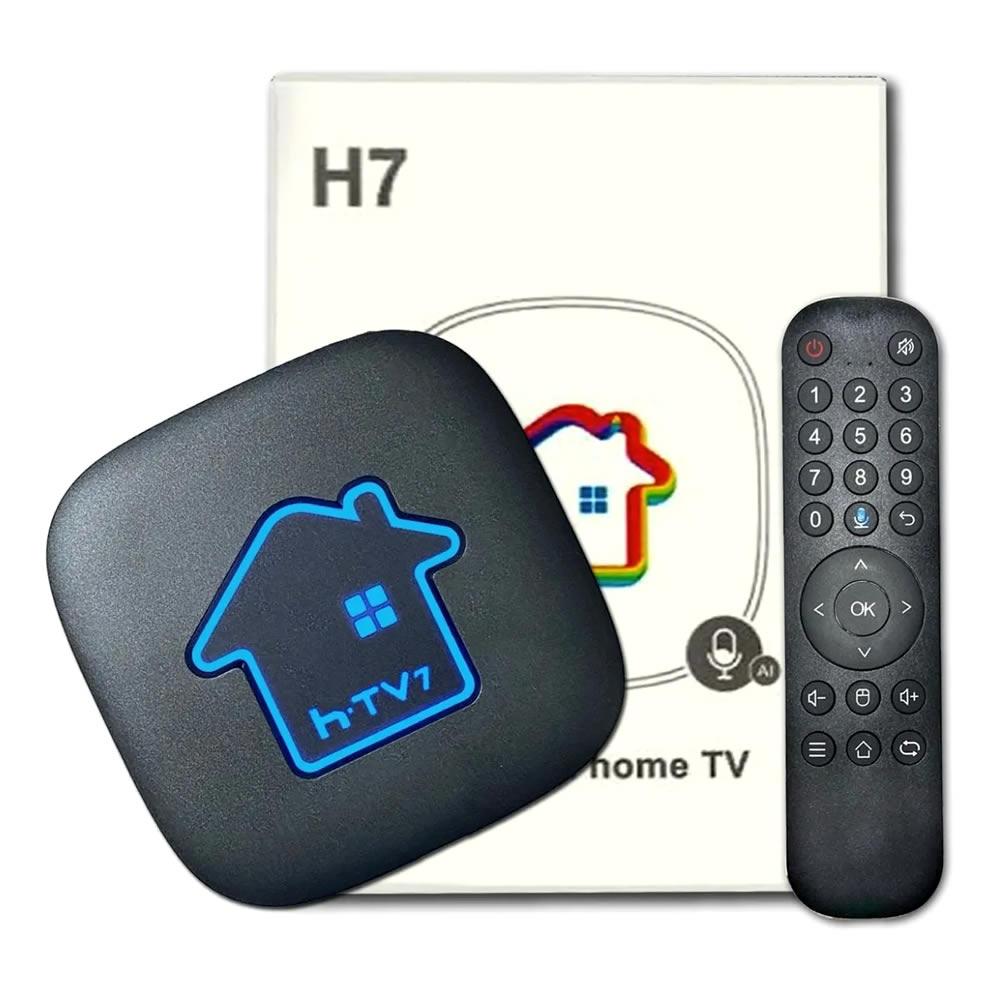 HTV 7 - Receptor de TV Digital - 300 Canais - 32000 Filmes - 2800 Series