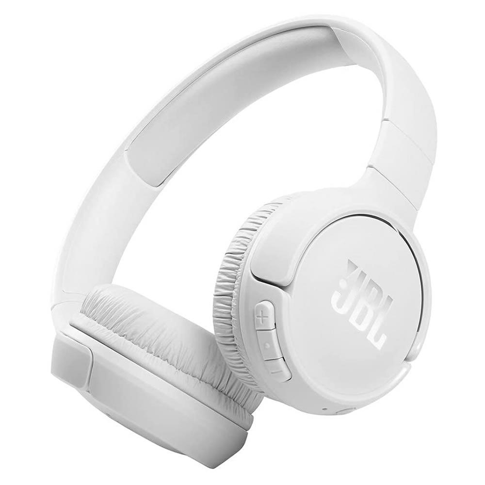 JBL 510BT Fone Bluetooth Wireless Pure Bass - White - Branco