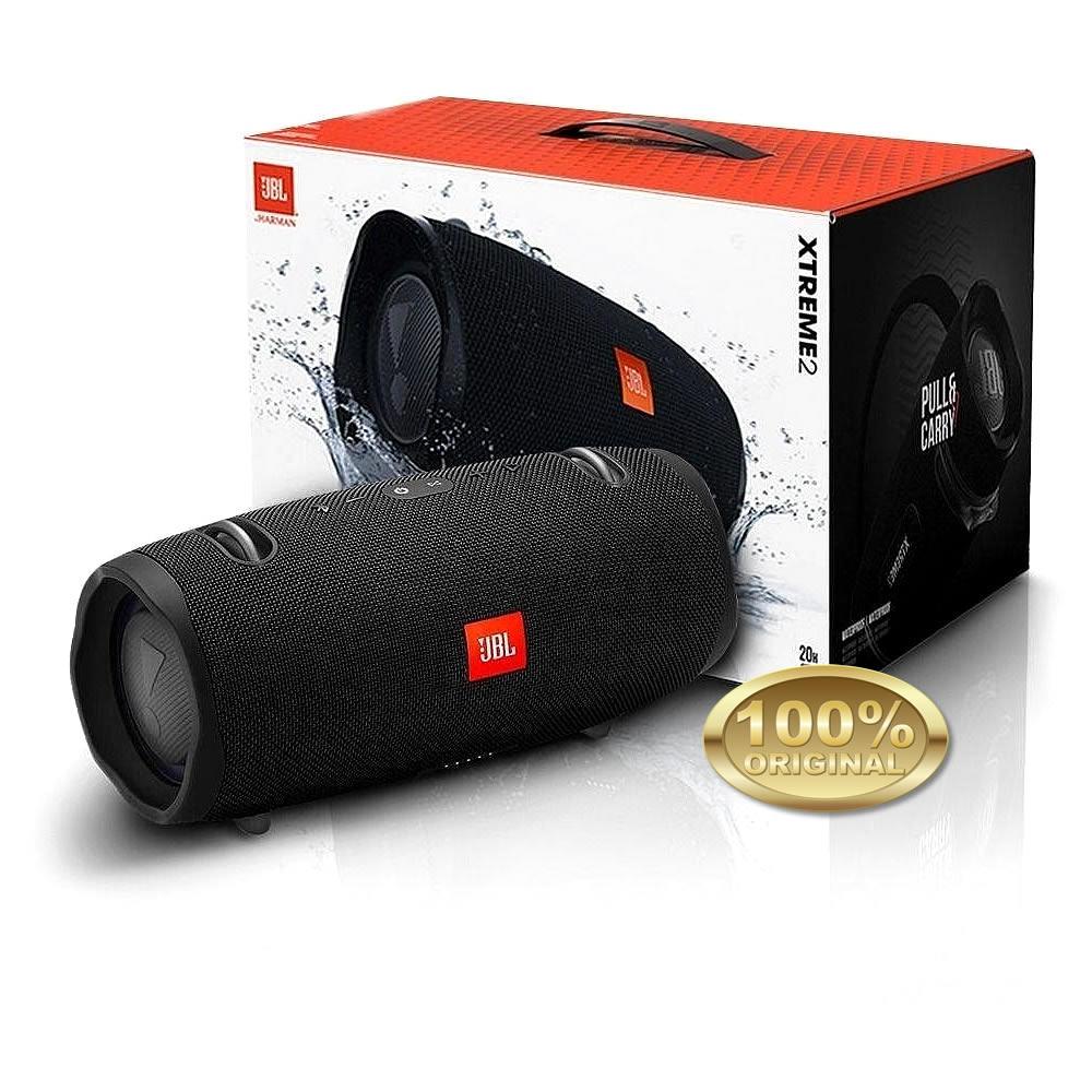 JBL Extreme 2 Caixa Acustica Portatil Bluetooth 5.1 - Black - Preto