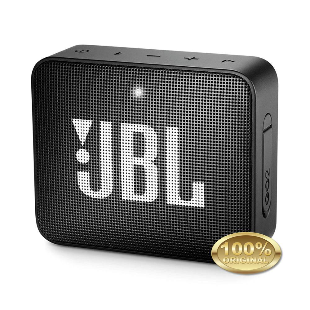 JBL GO 2 Caixa Acustica Portatil Bluetooth 4.1 - Black - Preta