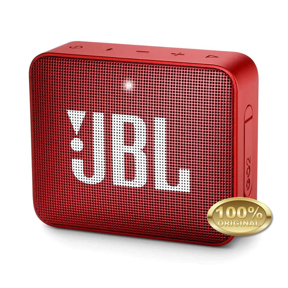 JBL GO 2 Caixa Acustica Portatil Bluetooth 4.1 - Red - Vermelho