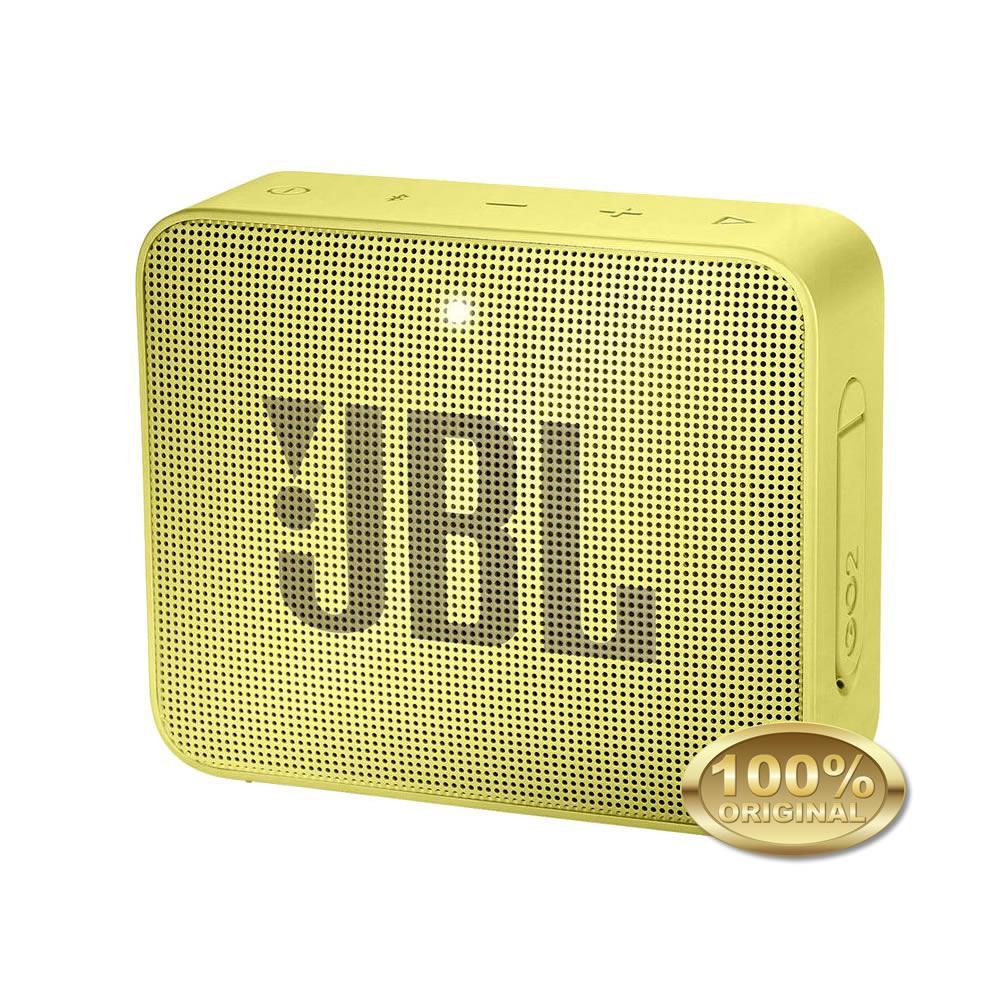 JBL GO 2 Caixa Acustica Portatil Bluetooth 4.1 - Yellow - Amarelo