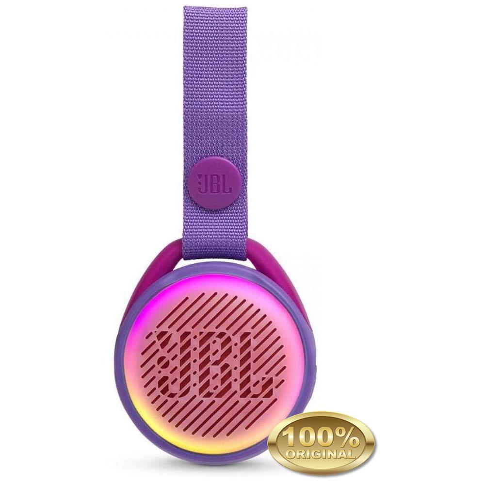 JBL JR POP - Caixa Acustica Portatil Bluetooth 4.2 - Purple - Roxo