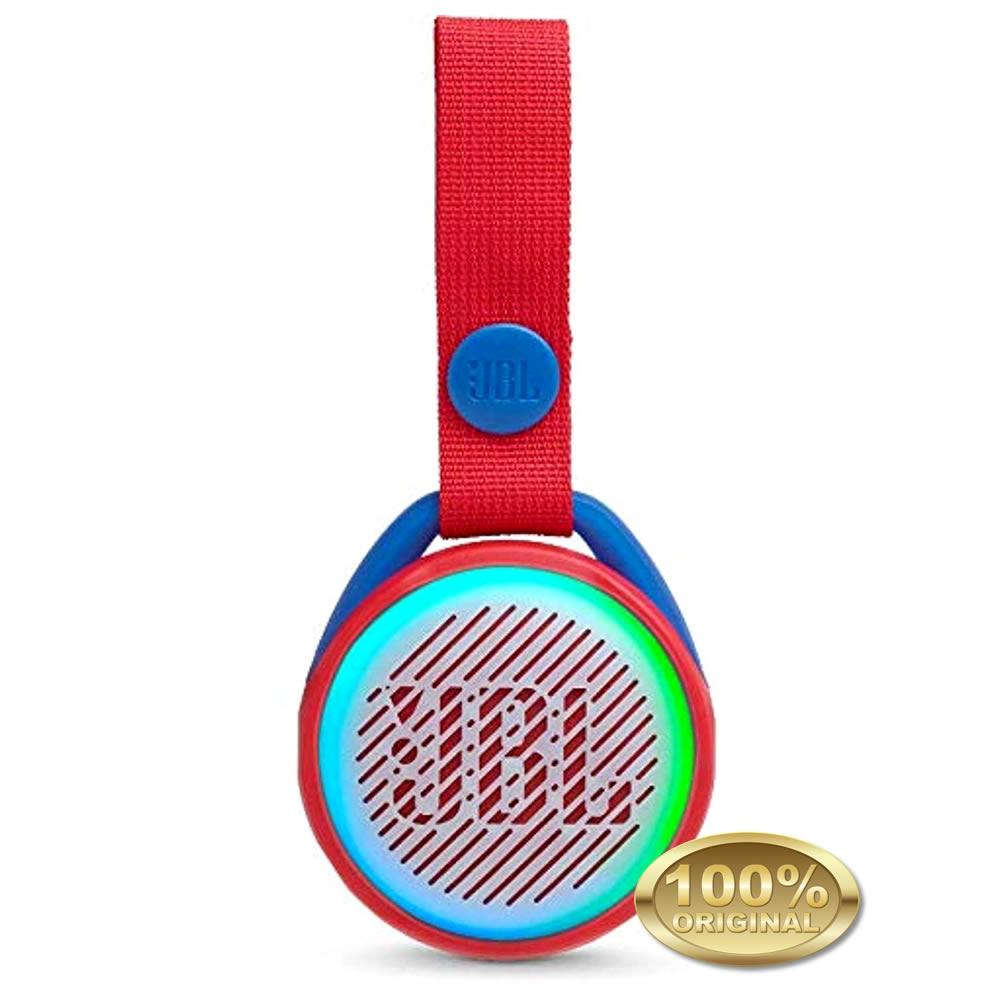 JBL JR POP - Caixa Acustica Portatil Bluetooth 4.2 - Red - Vermelho