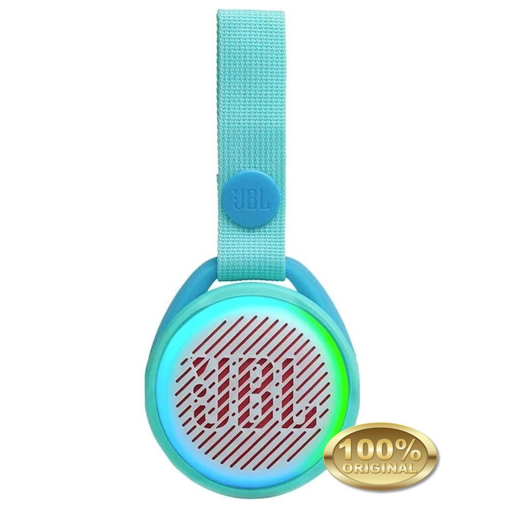JBL JR POP - Caixa Acustica Portatil Bluetooth 4.2 - Teal - Verde Claro