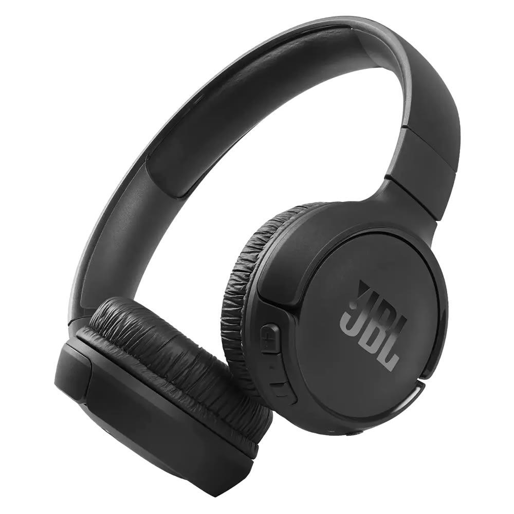 JBL Tune 510BT Fone Bluetooth 5.0 Wireless Pure Bass - Black - Preto