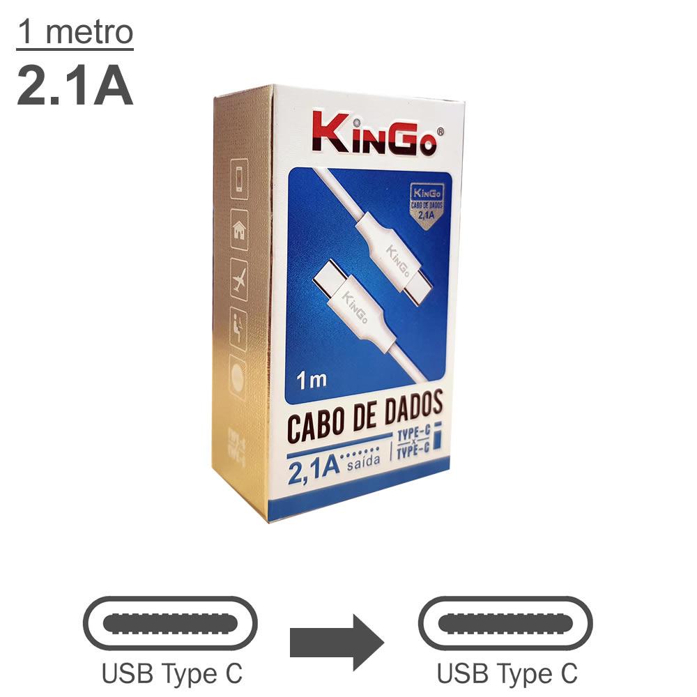 KinGo Cabo USB-C para USB-C - 1m