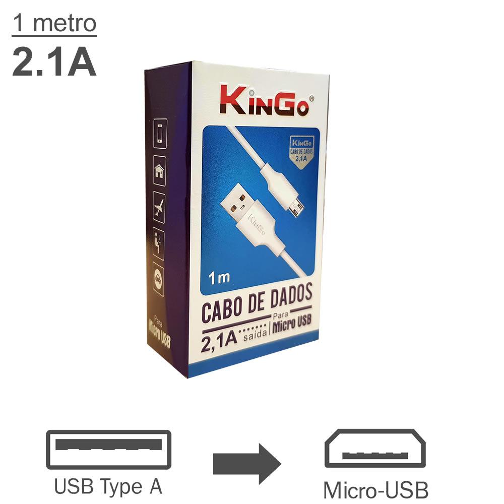 KinGo Cabo USB para Micro USB / V8 - 1m