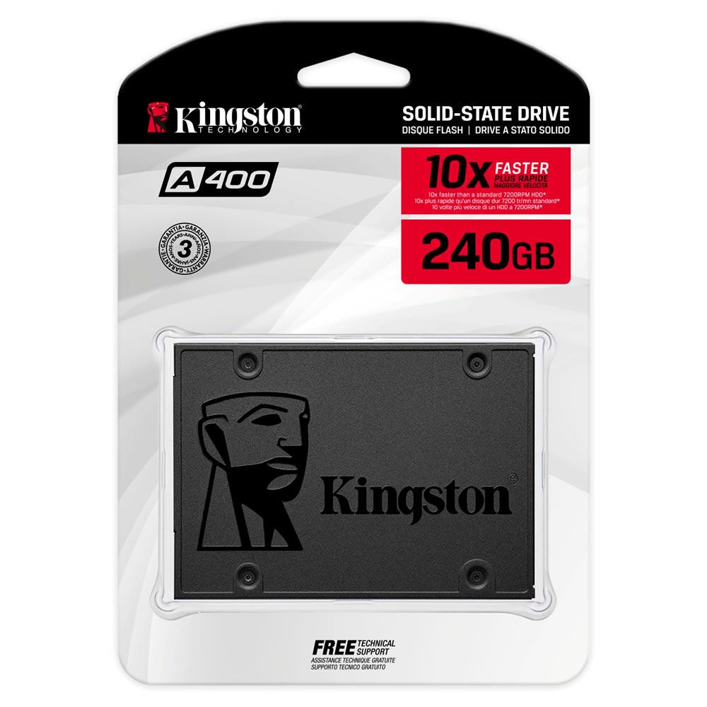 Kingston SSD A400HD - 550mb/s - 240gb