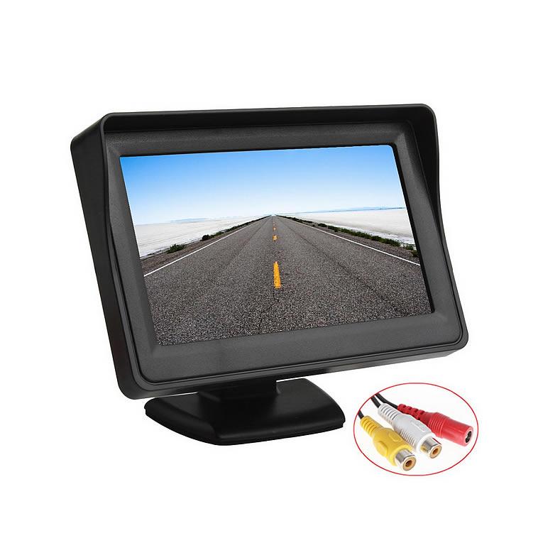 Monitor 12V Tela LCD 4,3 Automotivo - Avulso