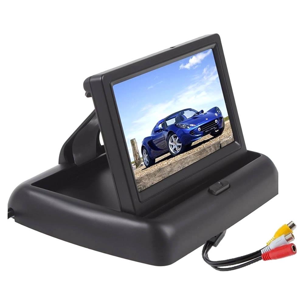 Monitor Retrátil 12V Tela LCD 4,3 Automotivo - Avulso
