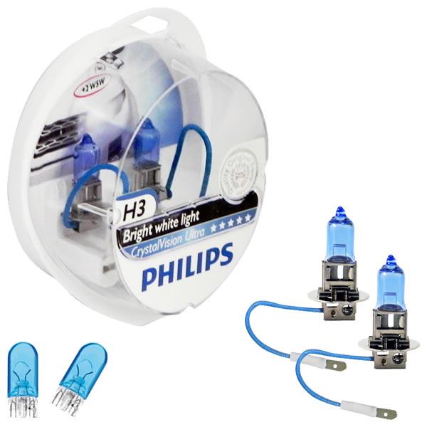 Philips Crystal Vision Ultra 4300K 55W + Pingos - mod. H3
