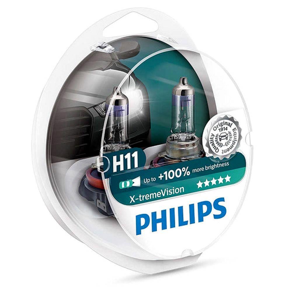 Philips Xtreme Vision +100% - 3350K 55W - mod. H11