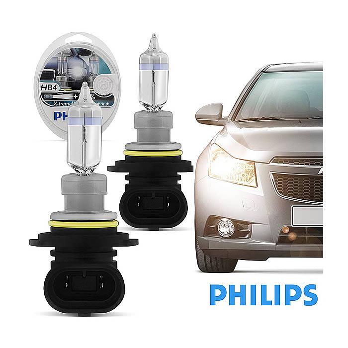 Philips Xtreme Vision +100% - 3350K 55W - mod. HB4