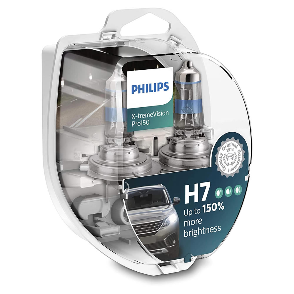Philips Xtreme Vision PRO +150% - 3350K 55W - mod. H7