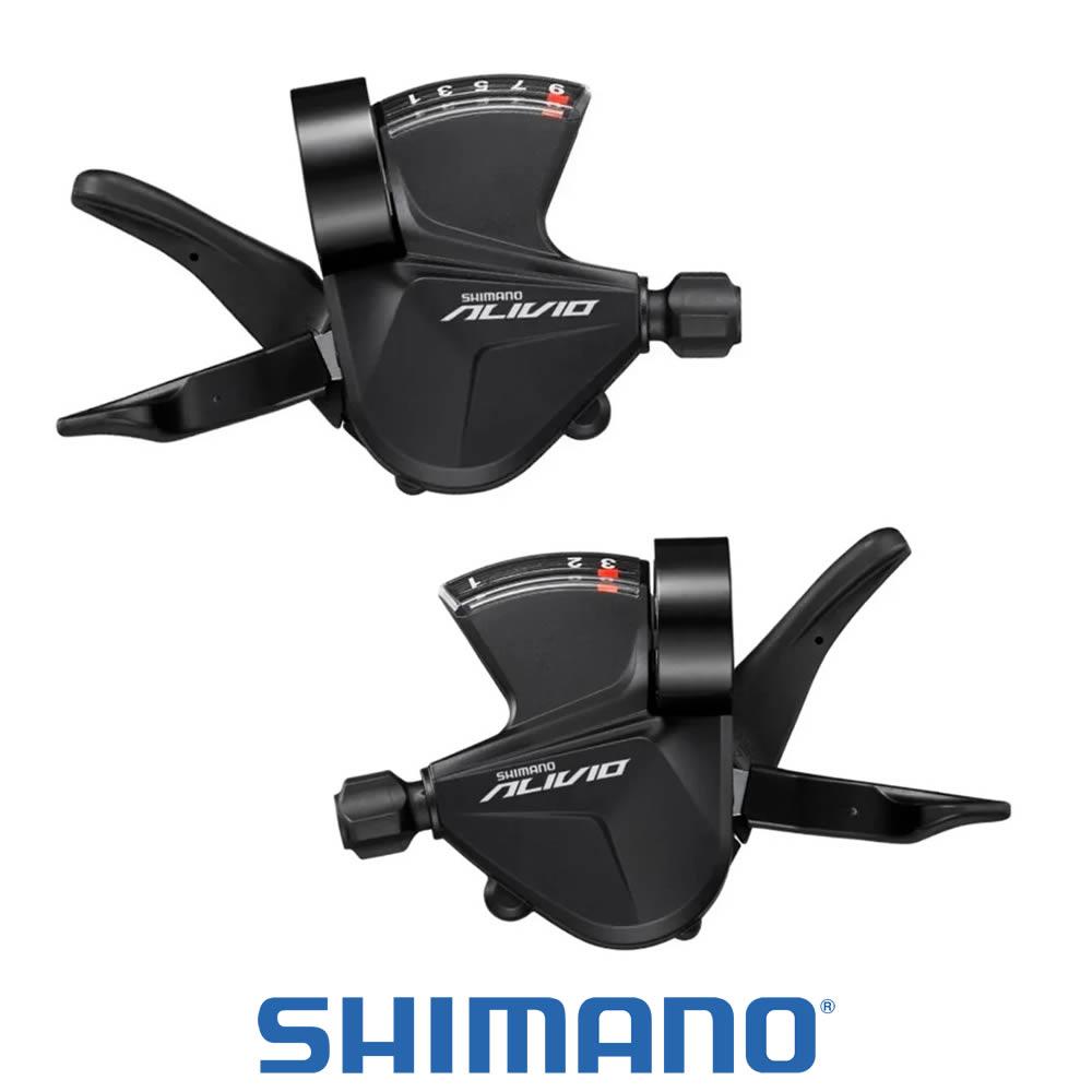 Shimano Alivio Alavanca SL-M3100 Rapid Fire Plus - PAR