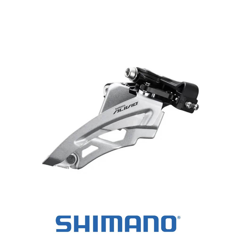 Shimano Alivio Cambio Dianteiro FD-M3100-M Side Swing - com Abaraçadeira - 3x9 Velocidades
