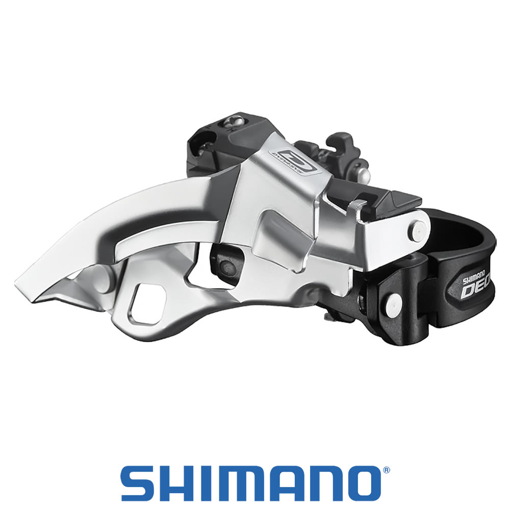 Shimano Cambio Dianteiro DEORE FD-M590 com Abaraçadeira - 3x10 Velocidades