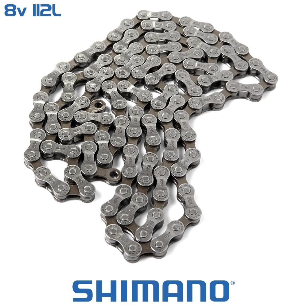 Shimano Corrente CN-HG53 8 Velocidades - 112 Elos