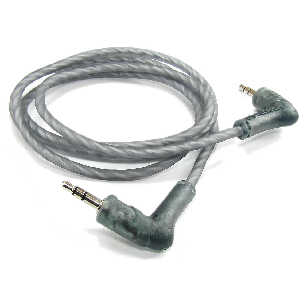 Stereo Lab EL-P2-100 Cabo Auxiliar P2-P2 Hi-Fi Ox-Free Cobre Puro- Dupla Blindagem - 1m