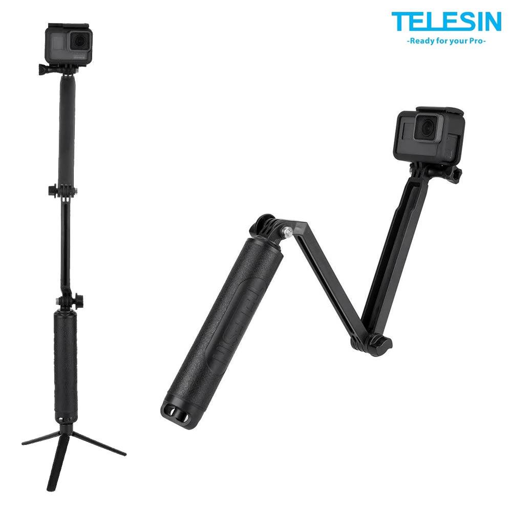 Telesin Bastao 3 Way com Tripé para GoPro - GP-WAY-300