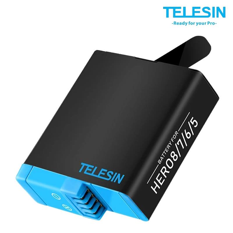 Telesin Bateria GP-BTR-502 - 1220 mAh para GoPro Hero 5, 6, 7 e 8