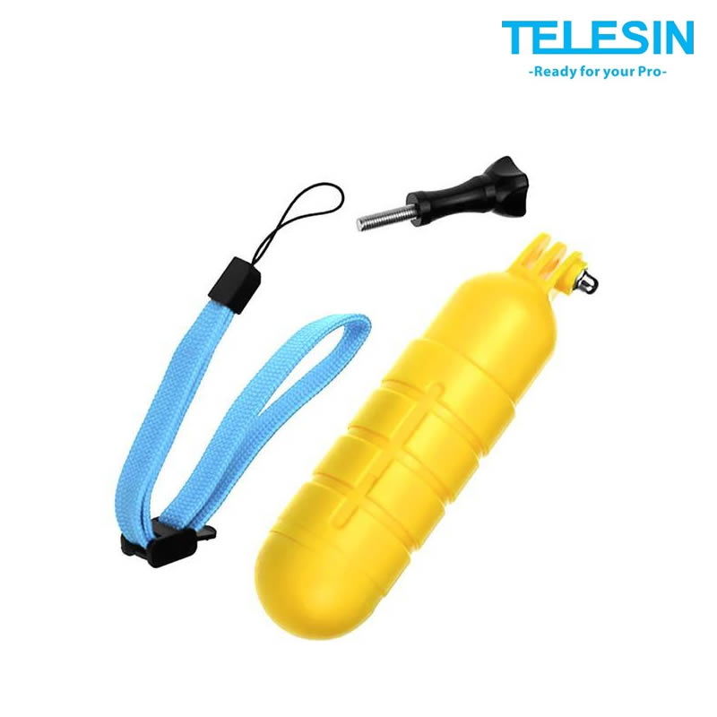 Telesin Boia Floaty - Bastao Flutuante para GoPro - GP-MNP-102