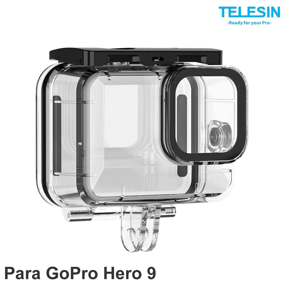 Telesin Case Suit de Mergulho 50m - GP-WTP-901 - para GoPro Hero 9 Black