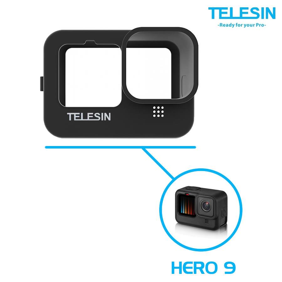 Telesin GP-PTC-901 Case Capa de Silicone GoPro Hero 9 Black
