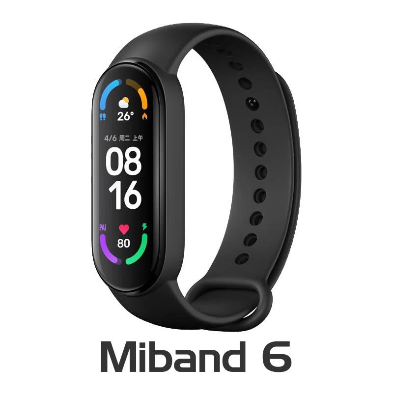 Xiaomi Miband 6 Smartband Bluetooth para Android e Ios - Tela Amoled - Versao GLOBAL