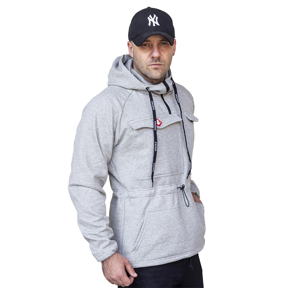 Blusa Moletom Techwear Pocket - B43