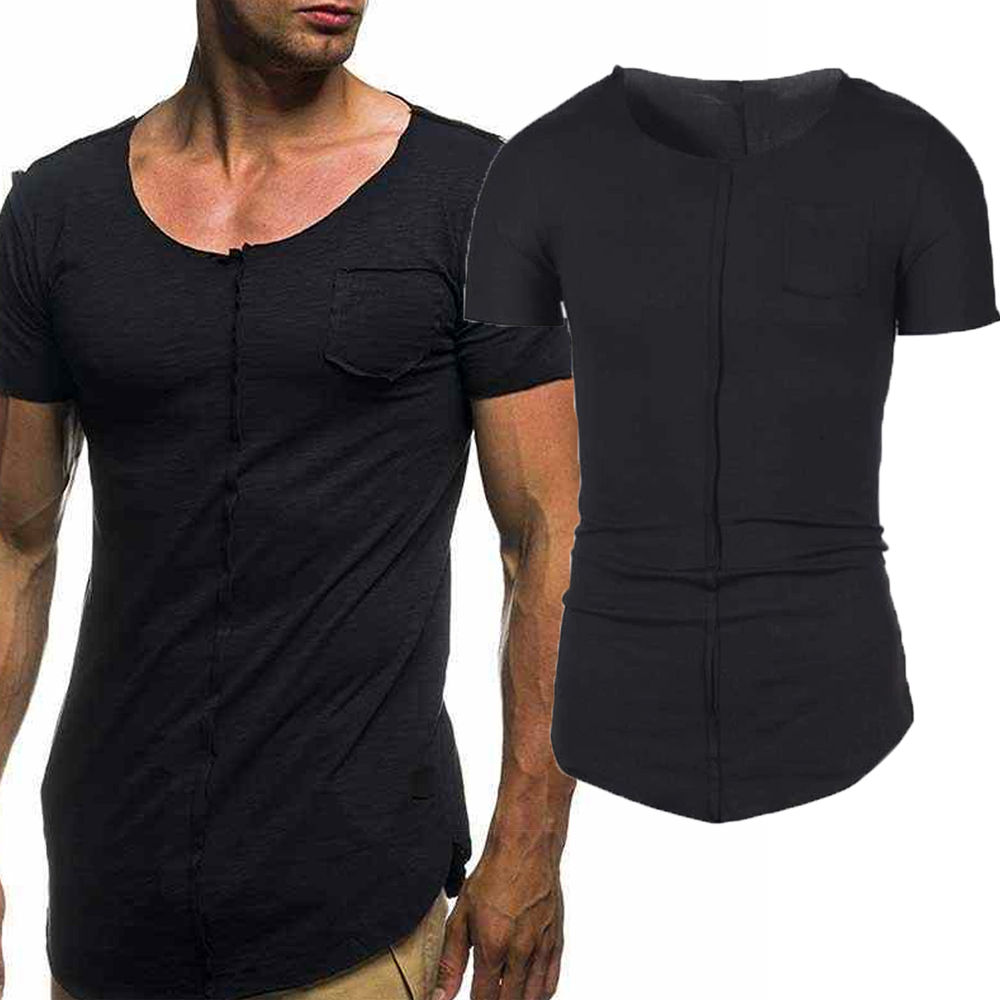 Camiseta Long Viscolycra Gola Canoa - C30