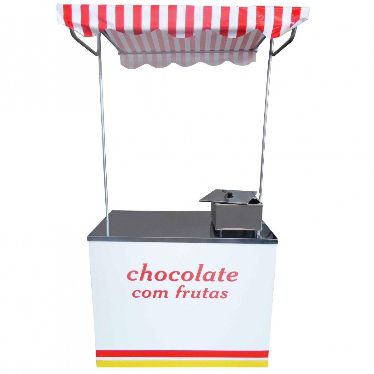 Barraca de Chocolate com Derretedeira